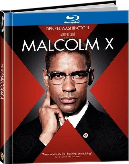 <strong><em>Malcolm X</em></strong> Blu-ray artwork