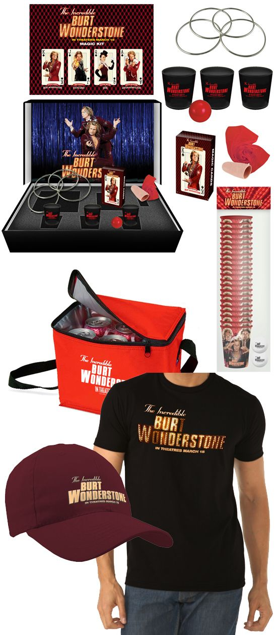Burt Wonderstone Giveaway