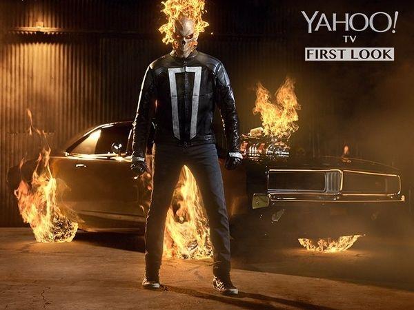 Agents of S.H.I.E.L.D. Season 4 Ghost Rider Photo