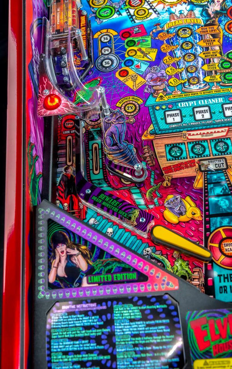 Elvira's House of Horrors Pinball machine by Stern #19