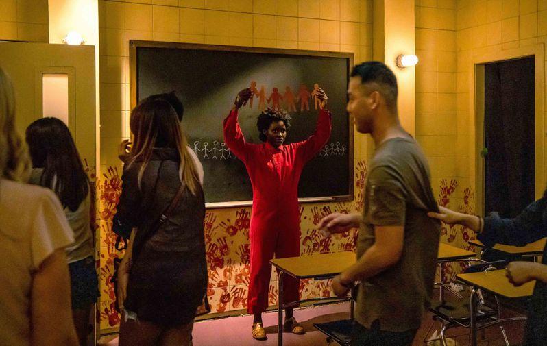 Lupita Nyong'o <strong><em>Us</em></strong> Maze Halloween Horror Nights