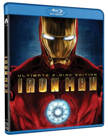 <strong><em>Iron Man</em></strong> Blu-Ray