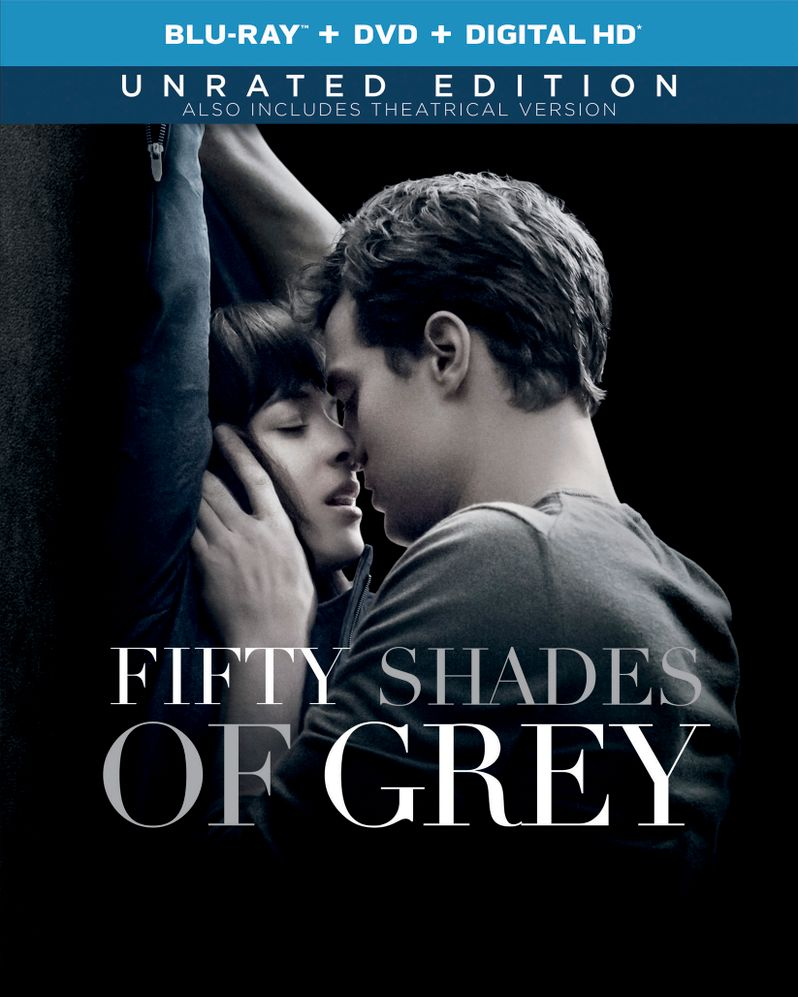 <strong><em>Fifty Shades of Grey</em></strong> Blu-ray Unrated