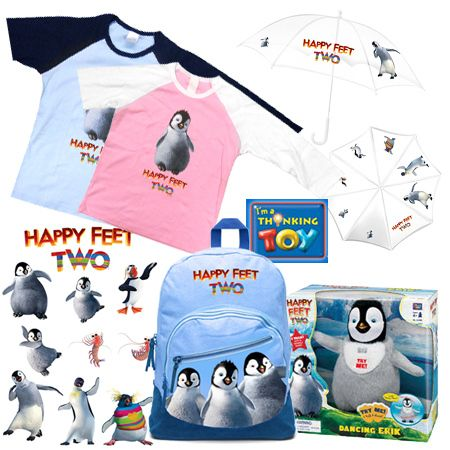 <strong><em>Happy Feet Two</em></strong> Giveaway Image #1