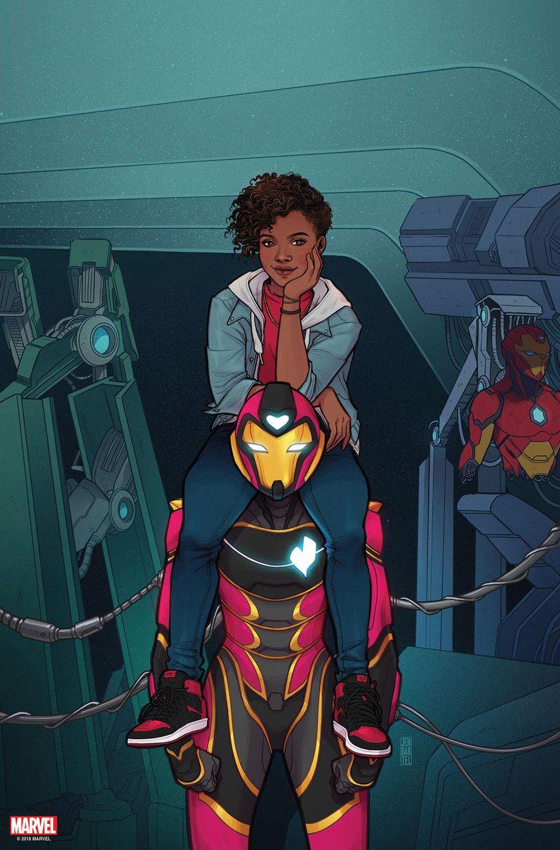 Marvel <strong><em>Ironheart</em></strong> comic book preview image #4