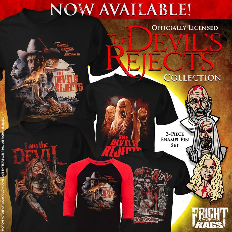 Devil's Rejects Fright-Rags Collection