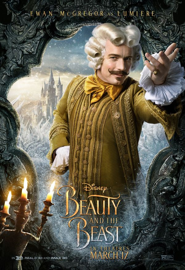 <strong><em>Beauty and the Beast</em></strong>e Lumiere Poster