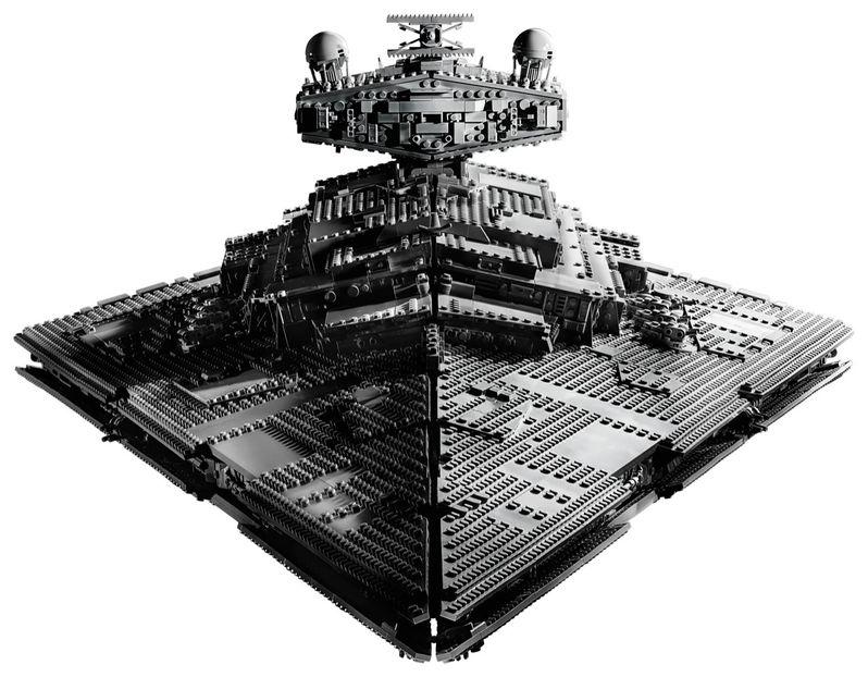 Star Wars Star Destroyer Lego Set Image #3