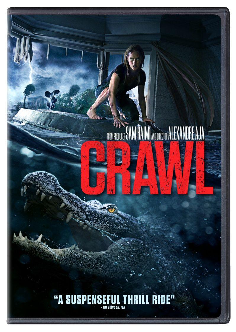 <strong><em>Crawl</em></strong> DVD cover