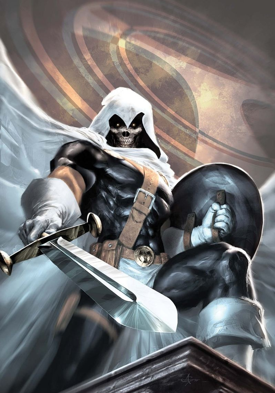 TaskMaster Marvel Comic Book Photo