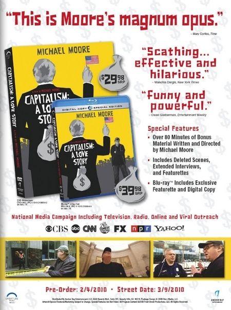 Capitalism: A Love Story DVD/Blu-ray