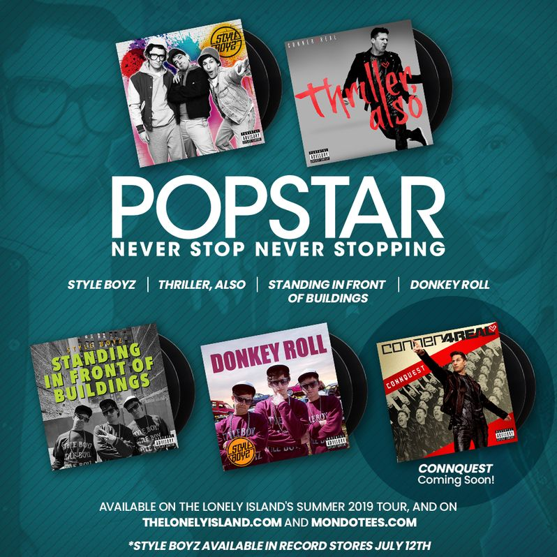 Popstar Vinyl Soundtrack cover #7