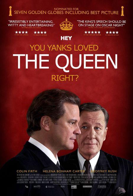 The King's Speech Honest Poster