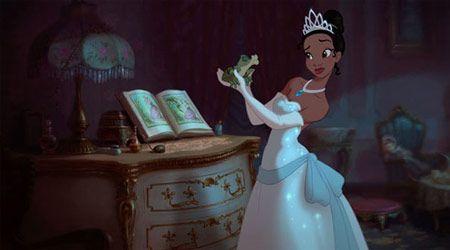 Princess and the Frog Artwork