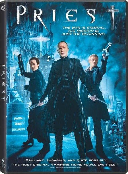 <strong><em>Priest</em></strong> DVD artwork