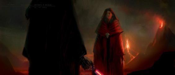 Revenge of the Sith Alternate Ending art
