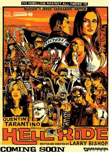 <strong><em>Hell Ride</em></strong> Poster