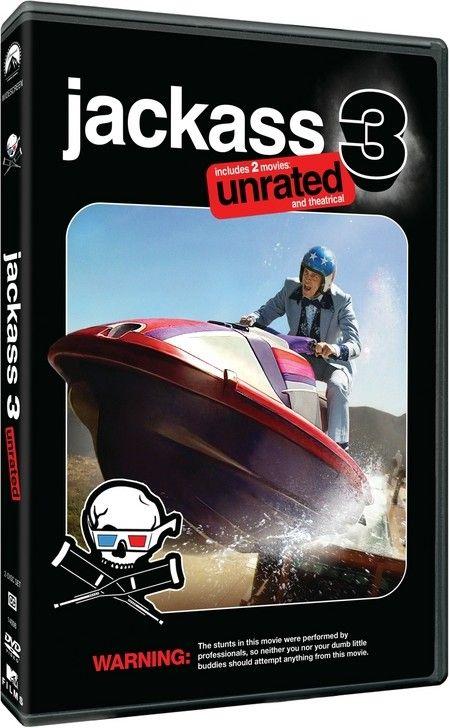 <strong><em>Jackass 3D</em></strong> two-disc DVD artwork