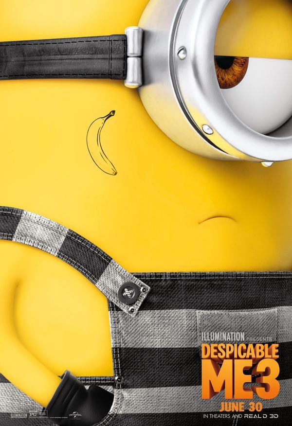 <strong><em>Despicable Me 3</em></strong> Minion Poster 1