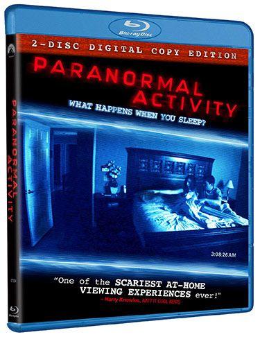 <strong><em>Paranormal Activity</em></strong> Blu-ray Art