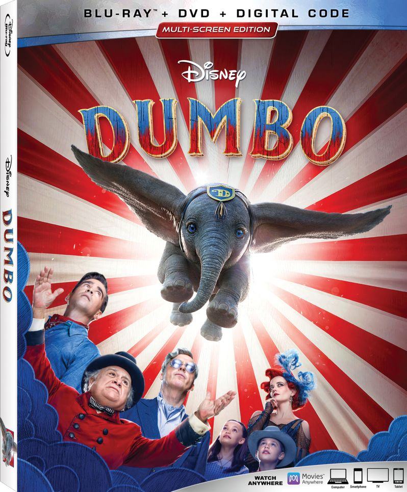 <strong><em>Dumbo</em></strong> 4K Ultra HD Blu-ray covert art