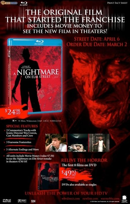 <strong><strong><em>A Nightmare on Elm Street</em></strong></strong> press ad