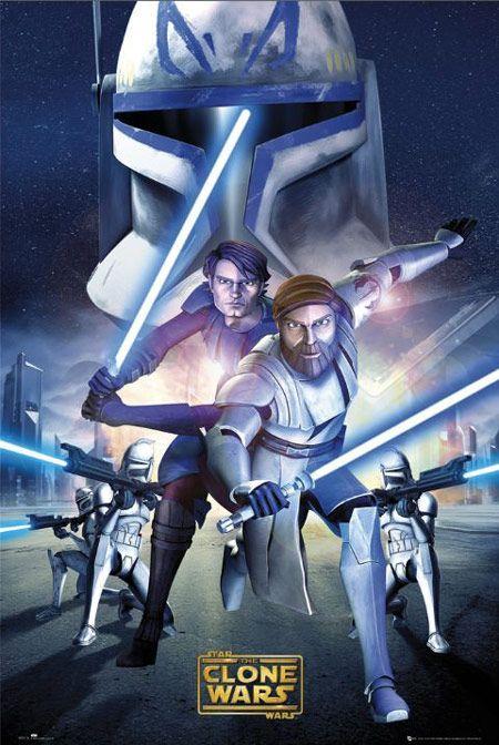 star wars Clone Wars Poster