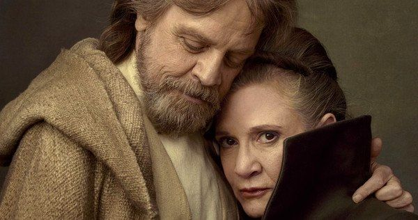 Luke Leia reunion