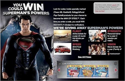 <strong><em>Man of Steel</em></strong> Contest