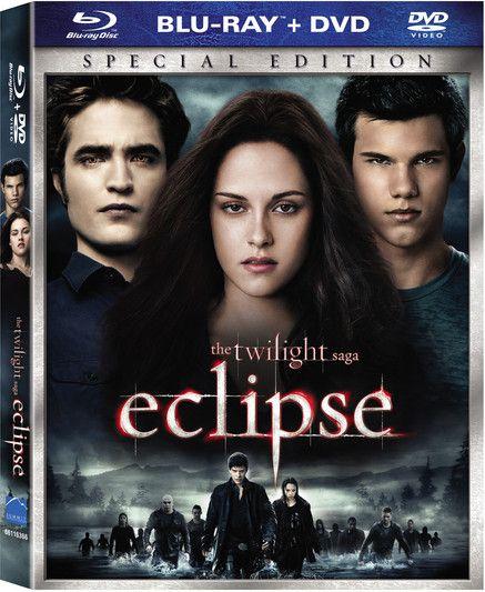 <strong><em>The Twilight Saga: Eclipse</em></strong> two-disc BD artwork