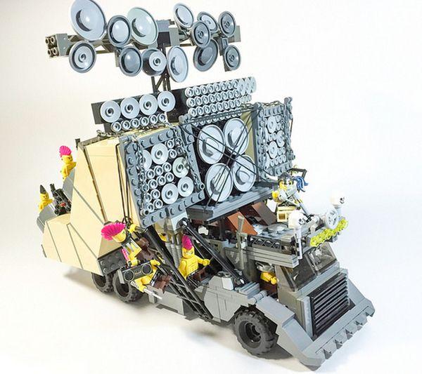 Mad Max Fury Road Lego Vehicle 2