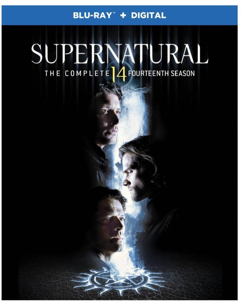<strong><em>Supernatural</em></strong> Season 14 Blu-ray cover art