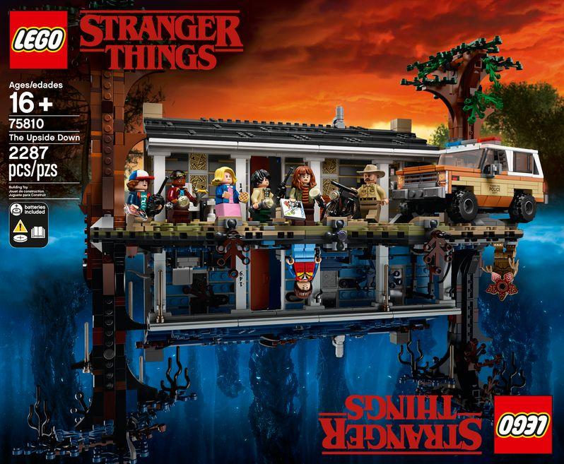 <strong><em>Stranger Things</em></strong> LEGO set The Upside Down #2