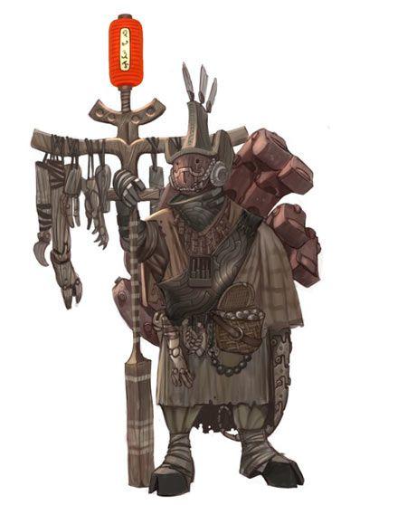 Hellboy II Concept Art