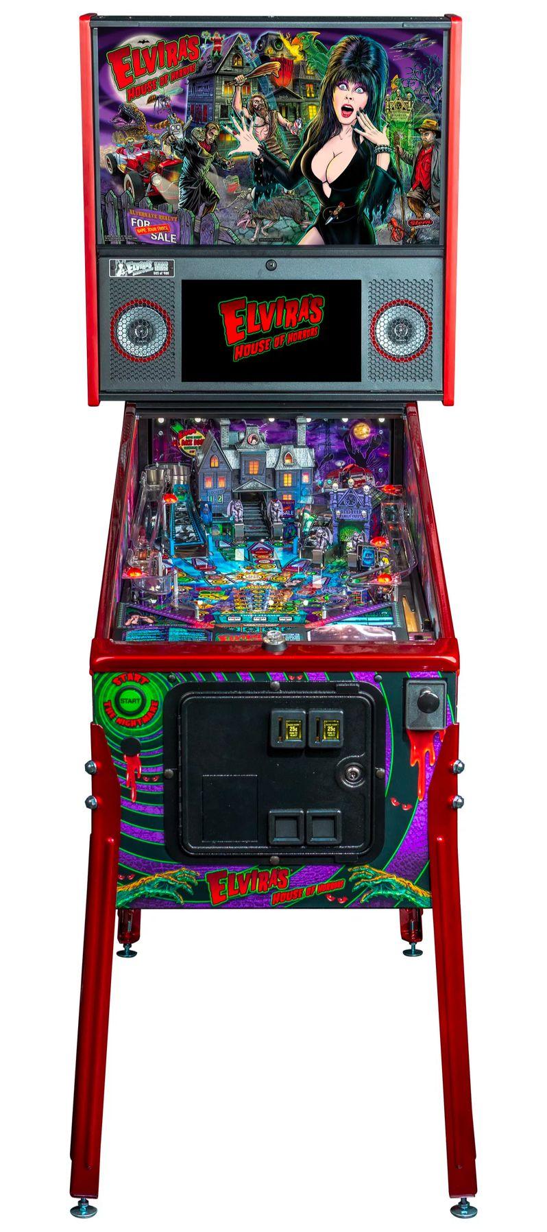 Elvira's House of Horrors Pinball machine by Stern #15