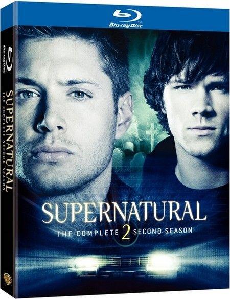 <strong><em>Supernatural</em></strong>: The Complete Second Season Blu-ray artwork