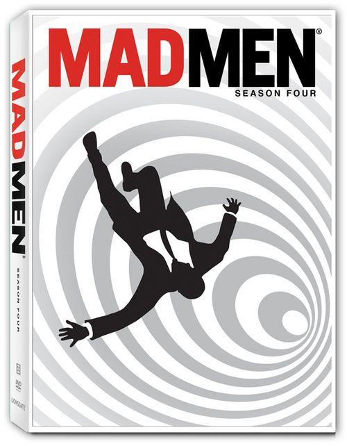 <strong><em>Mad Men</em></strong> Season Four DVD Cover