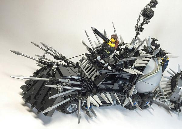 Mad Max Fury Road Lego Vehicle 3