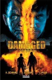 Damaged comic book cover art #2