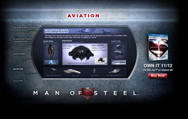<strong><em>Man of Steel</em></strong> Krypton Viral Website Photo 5