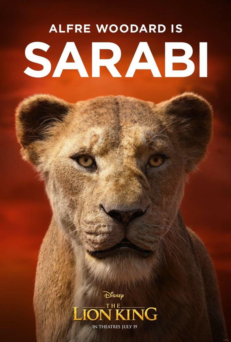 <strong><em>The Lion King</em></strong> Poster Sarabi
