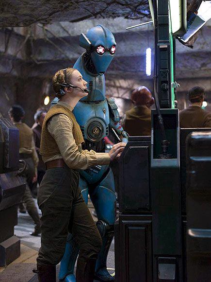 Billie Lourd Star Wars 7 Photo