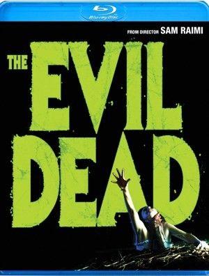 <strong><em>The Evil Dead</em></strong> Blu-ray artwork