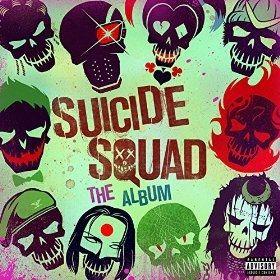 <strong><em>Suicide Squad</em></strong> Soundtrack Cover Art