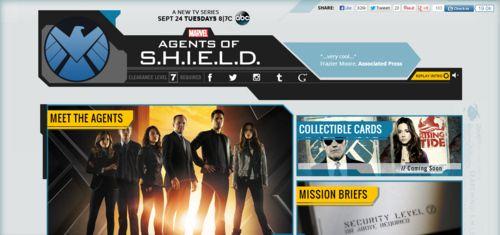 <strong><em>Marvel's Agents of S.H.I.E.L.D.</em></strong> official website