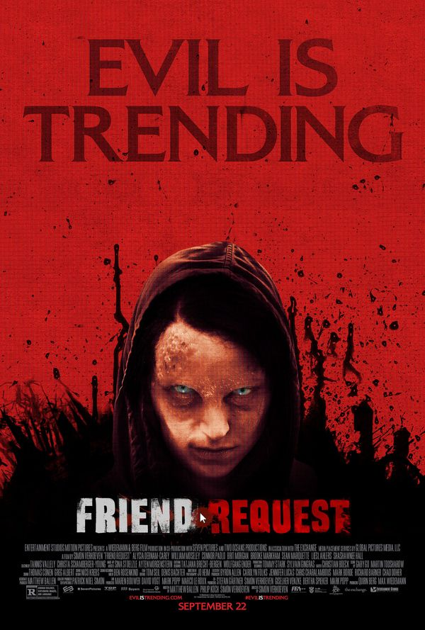 <strong><em>Friend Request</em></strong> Poster