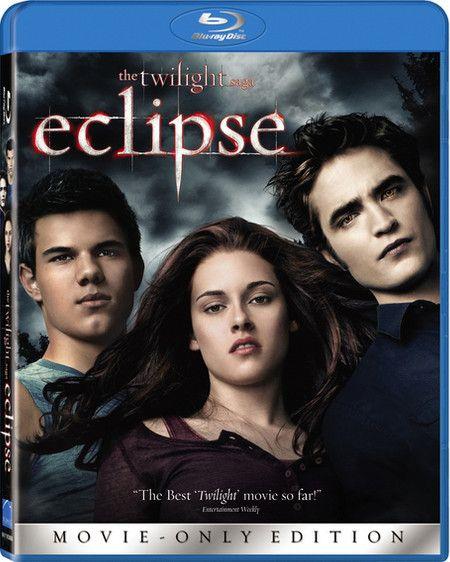 <strong><em>The Twilight Saga: Eclipse</em></strong> single-disc BD artwork