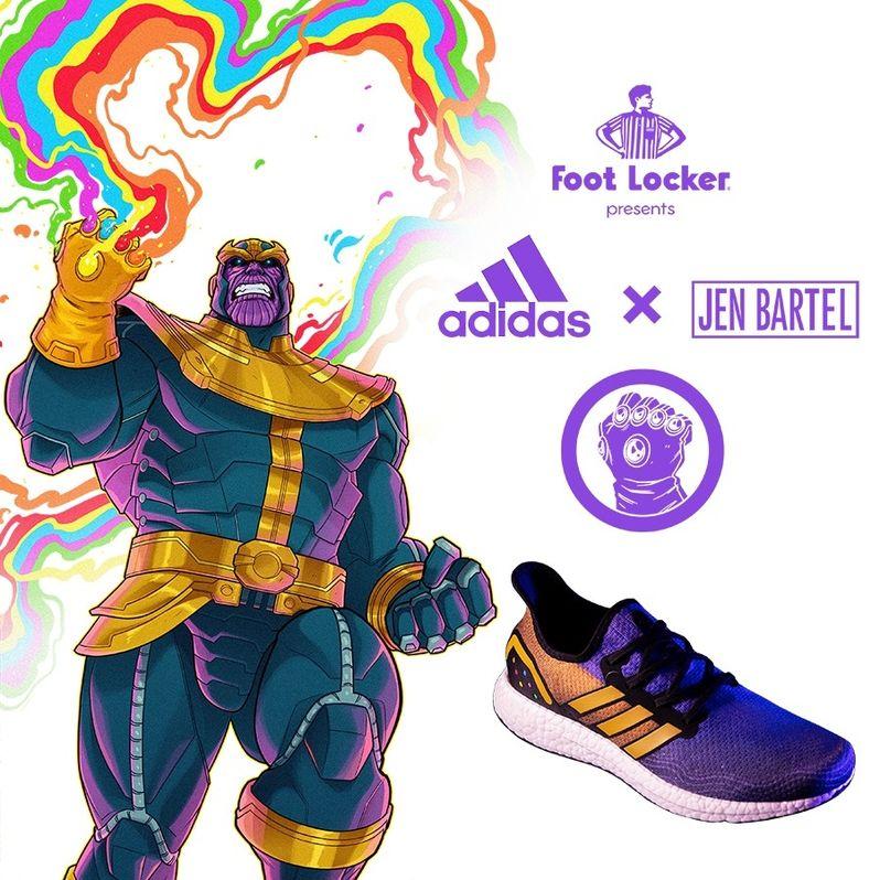 1ab3c398690 Adidas Unveils Thanos Sneakers in Celebration of Avengers: Endgame