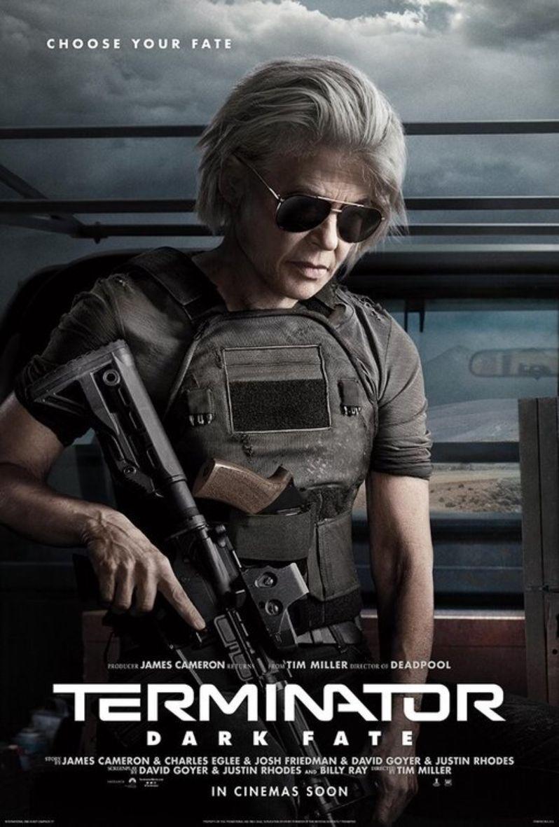 Terminator Dark Fate Character Poster Linda Hamilton