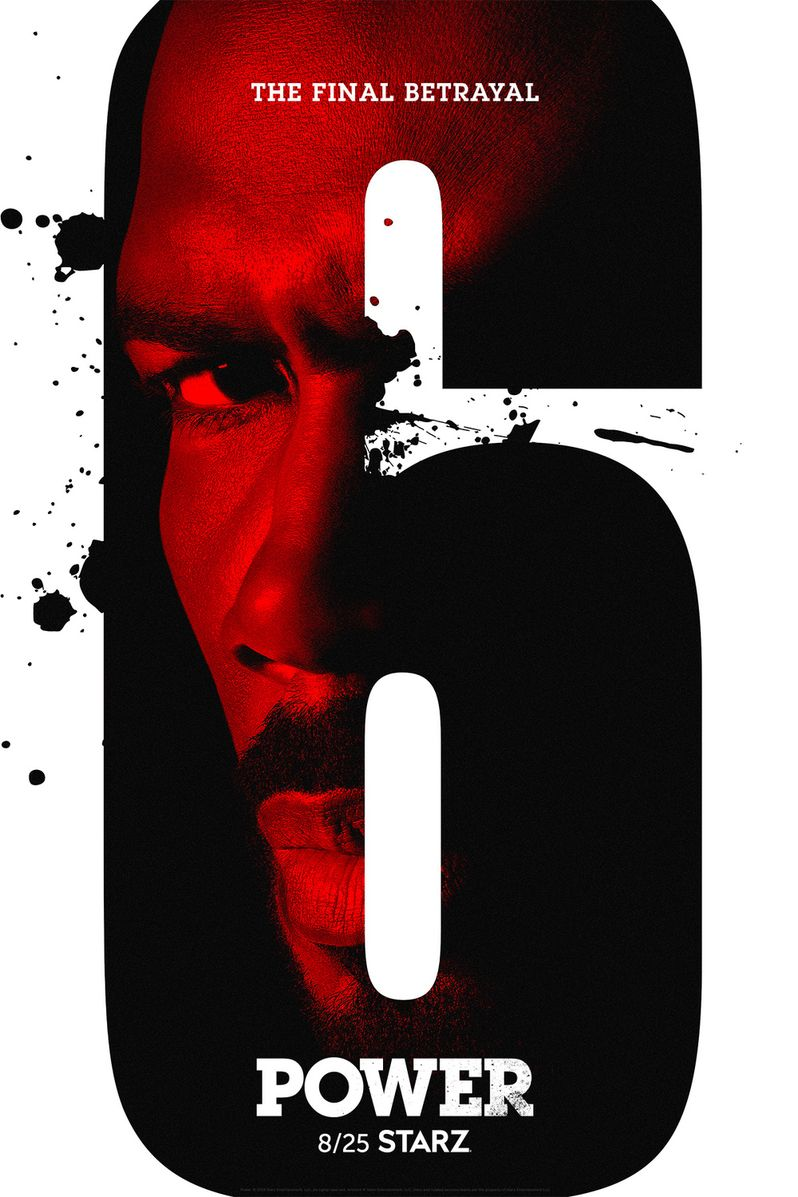 <strong><em>Power</em></strong> season 6 poster Starz